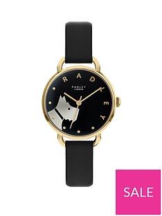 radley-radley-black-and-gold-detail-dial-black-leather-strap-ladies-watch