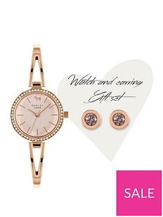 radley-radley-mother-of-pearl-crystal-set-dial-rose-gold-stainless-steel-bangle-ladies-watch-and-rose-gold-crystal-earrings-gift-set