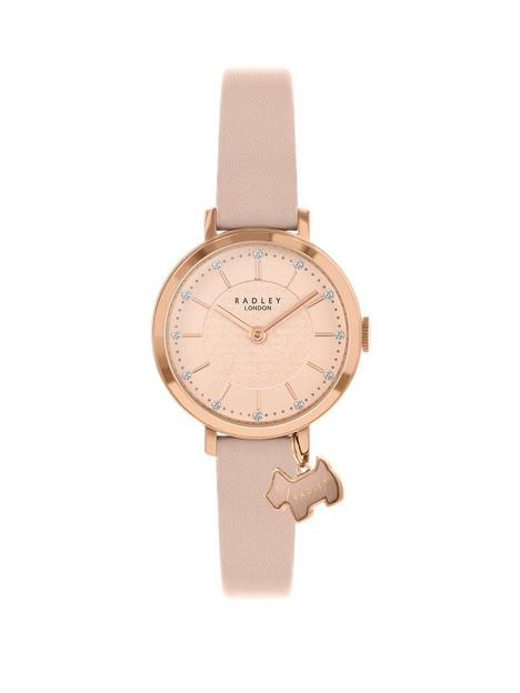 radley-ry2864-rose-gold-detail-glitter-dial-with-dog-charm-and-blush-leather-strap-ladies-watch