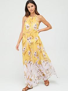 ted-baker-cabana-maxi-length-cover-up-yellow
