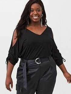 v-by-very-curve-essential-cold-shoulder-top-black