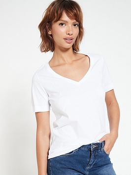 v-by-very-the-basic-v-neck-t-shirt-white