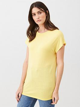 v-by-very-the-essential-scoop-neck-tee-yellow