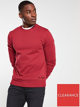 river-island-red-r96-slim-fit-sweatshirt