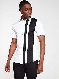 river-island-white-block-stripe-short-sleeve-shirt