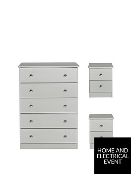 swift-verve-ready-assembled-3-piece-package-5-drawer-chest-and-2-bedside-chests