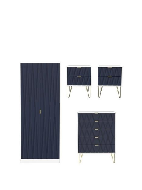 swift-versailles-ready-assembled-4-piece-package-2-door-wardrobe-5-drawer-chest-and-2-bedside-chests