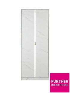 SWIFT Marbella Ready Assembled 2 Door Wardrobe