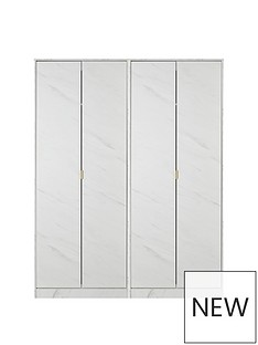 SWIFT Marbella 4 Door Wardrobe