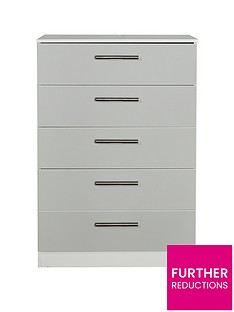 swift-montreal-gloss-ready-assembled-5-drawer-chest