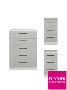 swift-montreal-gloss-3-piece-ready-assembled-package-5-drawer-chest-and-2-bedside-chests