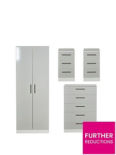 swift-montreal-gloss-ready-assembled-4-piece-package-2-door-mirrored-wardrobe-5-drawer-chest-and-2-bedside-chests