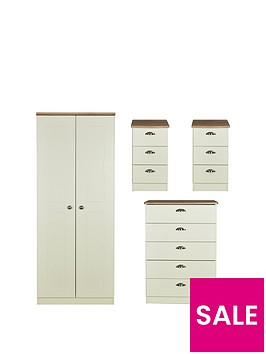 swift-charlotte-4-piece-ready-assembled-package-2-door-wardrobe-5-drawer-chest-and-2-bedside-chests