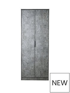 SWIFT Berlin ready Assembled 2 Door Wardrobe