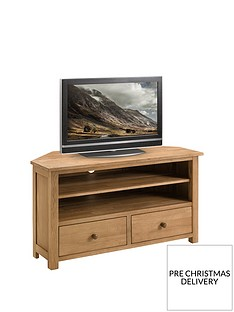 Julian Bowen Coxmore Corner TV Unit - fits up to 44 inch TV