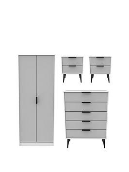 swift-copenhagen-4-piece-ready-assembled-package-2-door-wardrobe-5-drawer-chest-and-2-bedside-chests