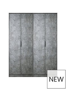 SWIFT Berlin 4 Door Wardrobe