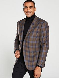 skopes-randers-jacket-brown-check