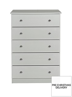 SWIFT Verve Ready Assembled 5 Drawer Chest