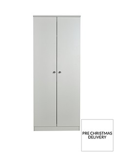 SWIFT Verve Ready Assembled 2 Door Wardrobe
