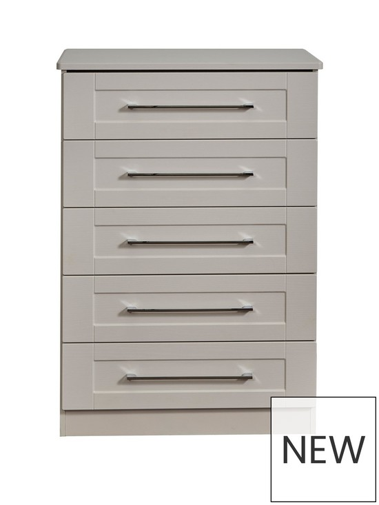 the best attitude beb69 95cfe Larson Ready Assembled 5 Drawer Chest