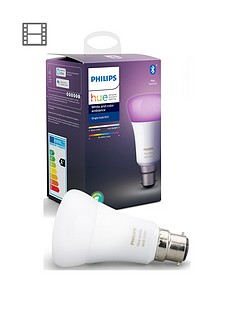 philips-hue-bt-white-and-colour-ambiance-b22-with-optional-extra-bulb