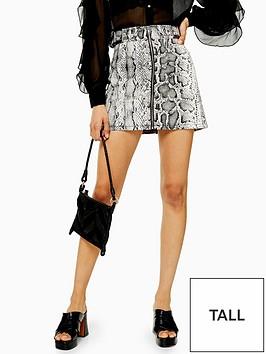 topshop-tall-smokey-snake-skirt-monochrome