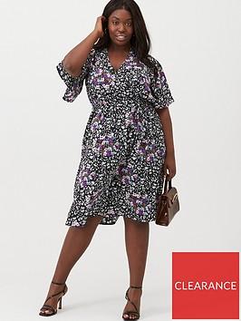 v-by-very-curve-print-wrap-kimono-sleeve-dress-floral