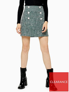 topshop-boucle-mini-skirt-green