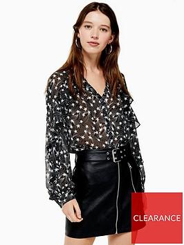 topshop-star-ruffle-blouse-monochrome