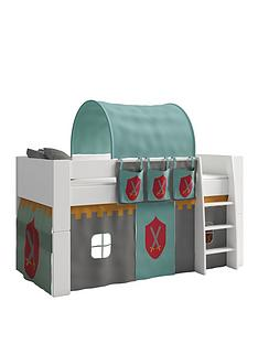 steens-for-kids-mid-sleeper-with-knight-tunnelnbsptent-and-organiser
