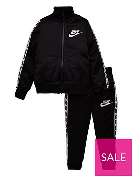 nike-sportswear-younger-boys-block-taped-tricot-tracksuit-black