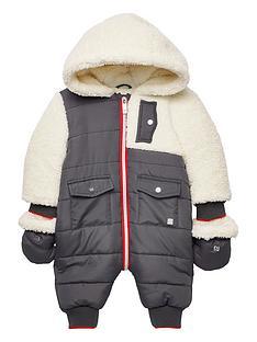 river-island-baby-borg-panel-snowsuit