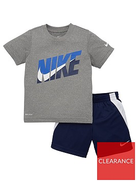 nike-younger-boys-tri-colour-shorts-set