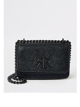 river-island-river-island-mini-pocket-front-underarm-bag-black