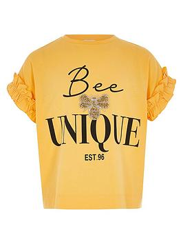river-island-girls-bee-unique-frill-t-shirt-yellow