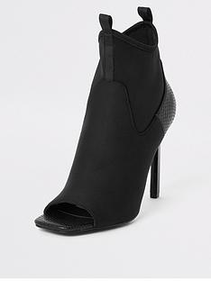 river-island-river-island-scuba-sock-heeled-shoe-boot-black
