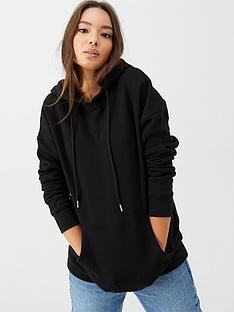 v-by-very-the-essential-oversized-zip-through-hoodie-black