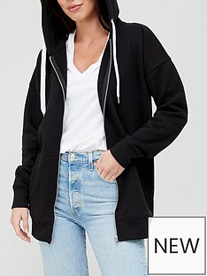 v-by-very-the-essentialnbspzip-through-hoodie-black