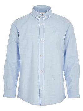 river-island-boys-long-sleeve-twill-shirt-blue