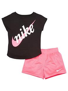 nike-sportswear-younger-girls-script-futura-shorts-set-pink