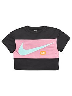 nike-younger-girls-cropped-training-t-shirt-black