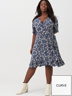 v-by-very-curve-printed-jersey-tea-dress-navy-floral