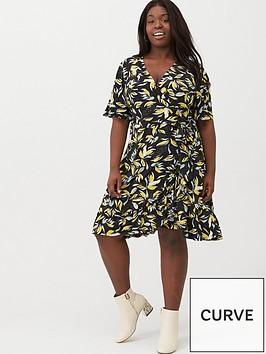 v-by-very-curve-printed-jersey-tea-dress-black-print