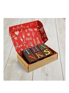 penny-post-mini-cake-thanks-chocolate-cake