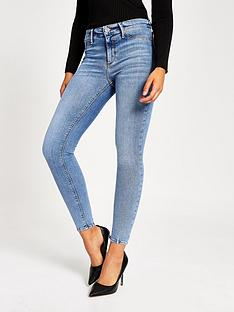 river-island-molly-mid-rise-jeggings-blue