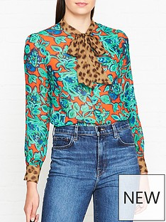 lk-bennett-wylie-mixed-print-tie-neck-blouse-multi