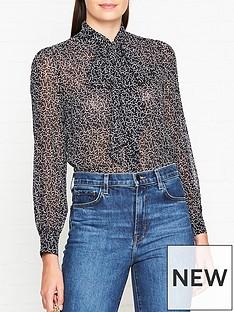 lk-bennett-evia-tie-neck-print-blouse-navy
