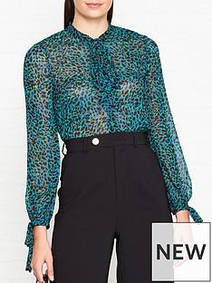 lk-bennett-bowie-animal-print-bow-blouse-blue