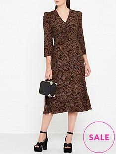 lk-bennett-gabrielle-coral-print-midi-dress-black